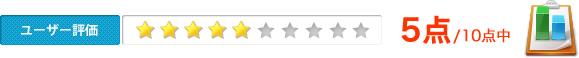 ユーザー評価